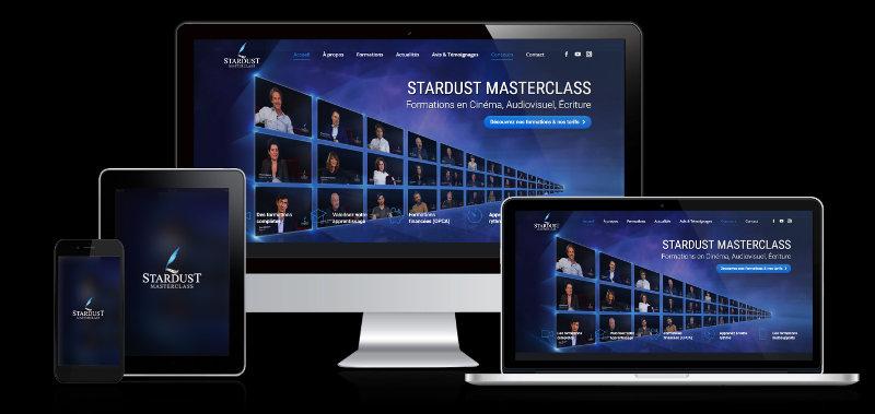 plateforme formations responsive audiovisuel écriture