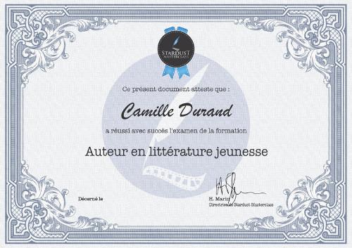 certificat formation auteur en littérature jeunesse